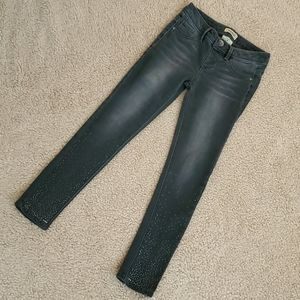 Squeeze Size 10 Girls Gray Jeans with Stars